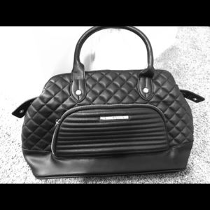 Steve Madden Black Leather Handbag